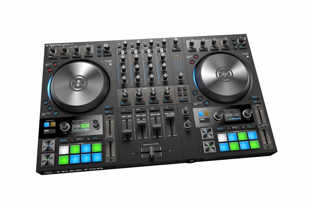 Native Instruments ネイティブインストゥルメンツ / TRAKTOR KONTROL S4 MK3 DJコントローラー