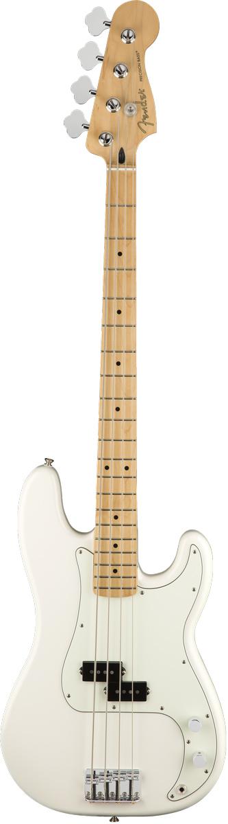 Fender フェンダー/ Player Series Precision Bass Polar White / Maple Fingerboard [エレキベース] 【お取り寄せ商品】【YRK】