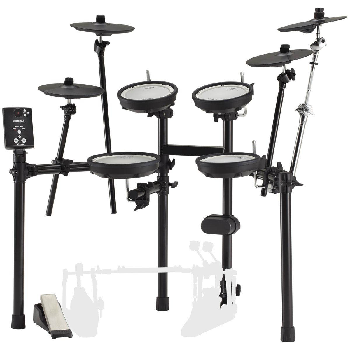 【Rolandキャッシュバック3000円対象】Roland / TD-1DMK 3シンバル 拡張キット ローランド 電子ドラム TD-1 Double Mesh Kit【YRK】