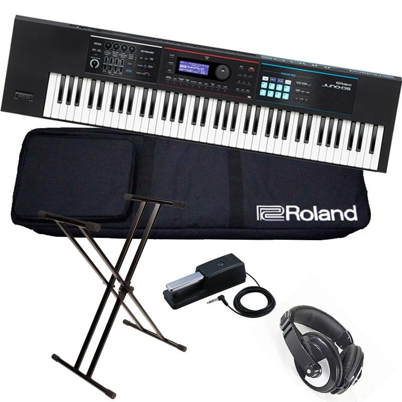 Roland ローランド / JUNO-DS76【スタートセット!】76鍵盤シンセサイザー【YRK】