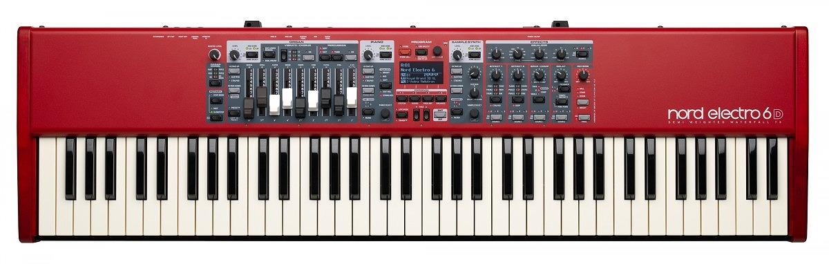 Clavia クラヴィア / nord electro 6D 73 73鍵盤ノードエレクトロ【YRK】