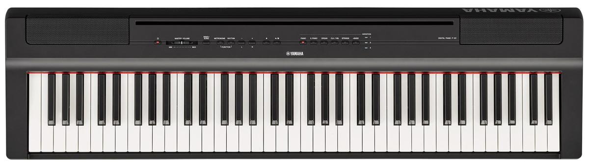 YAMAHA ヤマハ / P-121B (ブラック) 73鍵盤電子ピアノ【お取り寄せ商品】【YRK】