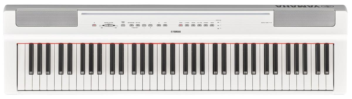 YAMAHA ヤマハ / P-121WH (ホワイト) 73鍵盤電子ピアノ【お取り寄せ商品】【YRK】