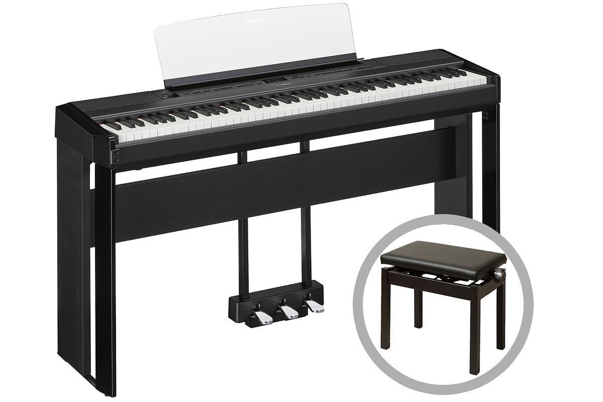 YAMAHA ヤマハ / P-515B【オプションセット!】(ブラック) 電子ピアノ【お取り寄せ商品】【YRK】《予約注文/11月1日発売予定》