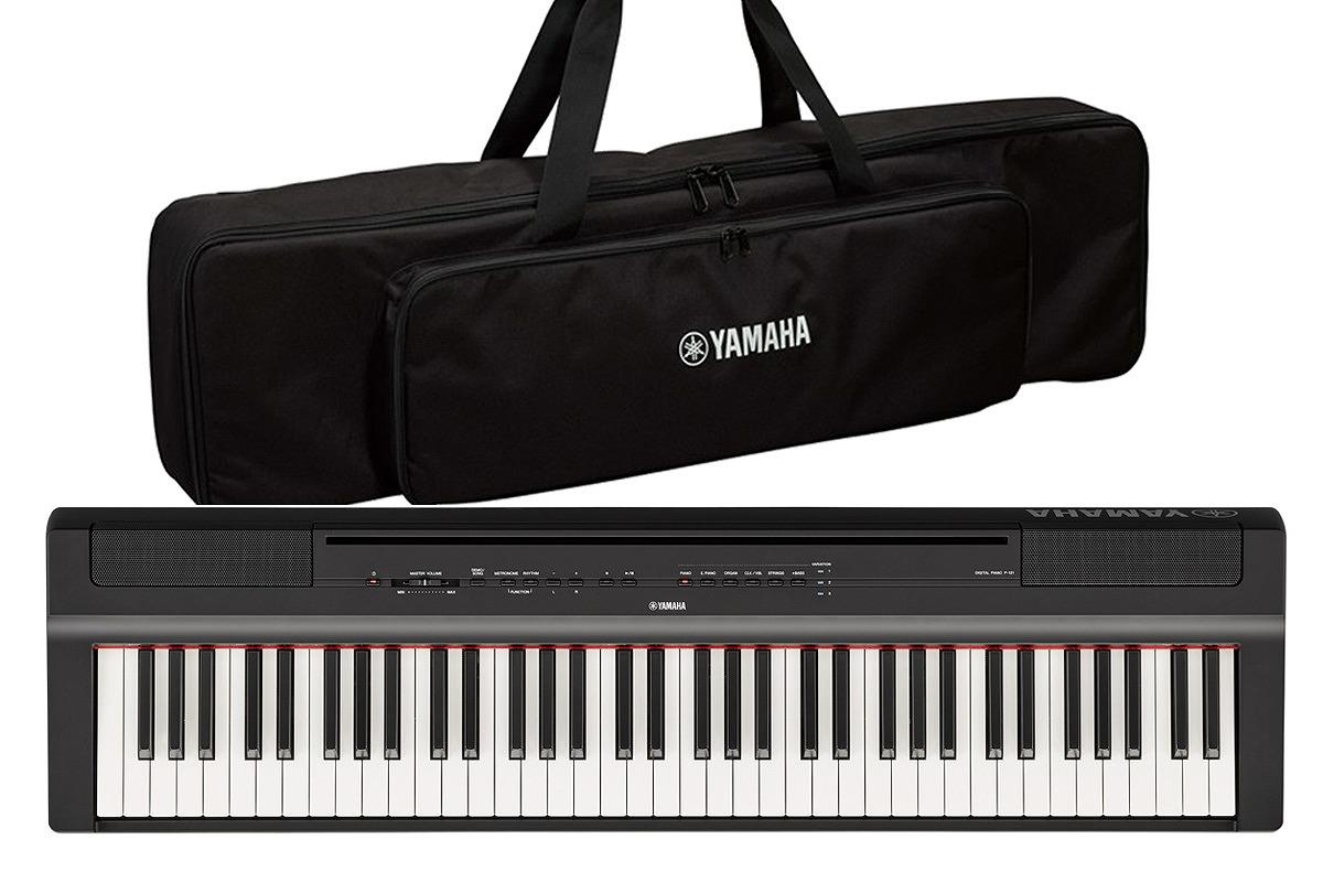 YAMAHA ヤマハ / P-121B【純正ケースセット!】(ブラック) 73鍵盤電子ピアノ【お取り寄せ商品】【YRK】