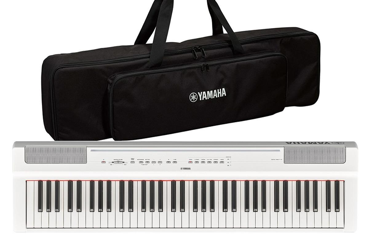 YAMAHA ヤマハ / P-121WH【純正ケースセット!】(ホワイト) 73鍵盤電子ピアノ【お取り寄せ商品】【YRK】