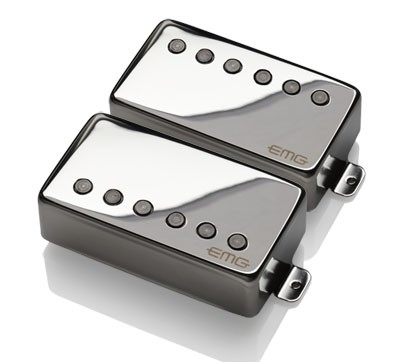EMG / Electric Guitar Pickup EMG 57/66 SET Chrome【WEBSHOP】 《お取り寄せ商品/納期別途ご案内》