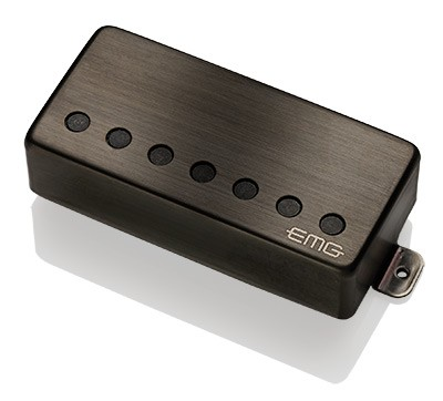 EMG イーエムジー / Electric Guitar Pickup EMG 57-7H Brushed Black Chrome 7弦リア用【お取り寄せ商品】【WEBSHOP】