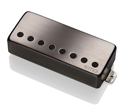 EMG イーエムジー / Electric Guitar Pickup EMG 57-8H Brushed Black Chrome 8弦リア用【WEBSHOP】