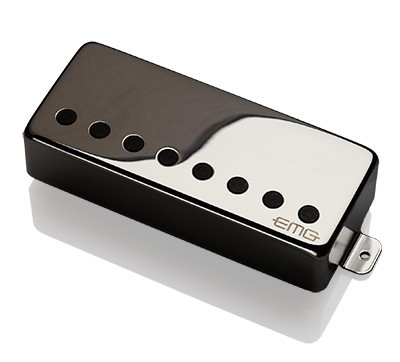 EMG / Electric Guitar Pickup EMG 57-8H Black Chrome 8弦リア用【WEBSHOP】 《お取り寄せ商品/納期別途ご案内》