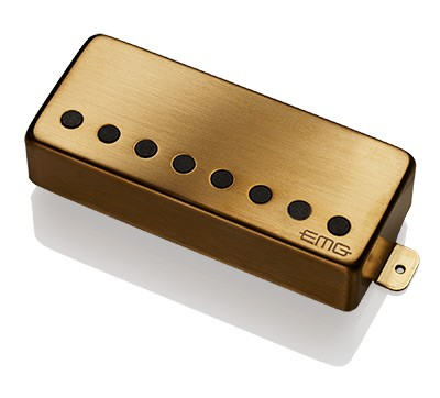 EMG イーエムジー / Electric Guitar Pickup EMG 57-8H Brushed Gold 8弦リア用【お取り寄せ商品】【WEBSHOP】