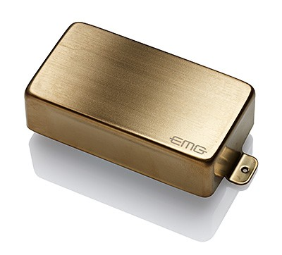 EMG イーエムジー / Electric Guitar Pickup EMG 60A Brushed Gold【お取り寄せ商品】【WEBSHOP】
