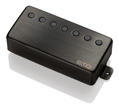 EMG / Electric Guitar Pickup EMG 66-7H Brushed Black Chrome 7弦フロント用【WEBSHOP】 《お取り寄せ商品/納期別途ご案内》