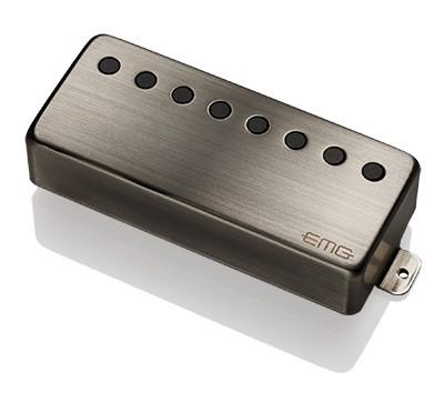 EMG イーエムジー / Electric Guitar Pickup EMG 66-8H Brushed Chrome 8弦フロント用【お取り寄せ商品】【WEBSHOP】