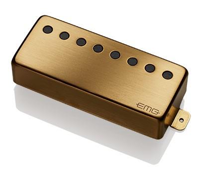EMG / Electric Guitar Pickup EMG 66-8H Brushed Gold 8弦フロント用【WEBSHOP】 《お取り寄せ商品/納期別途ご案内》