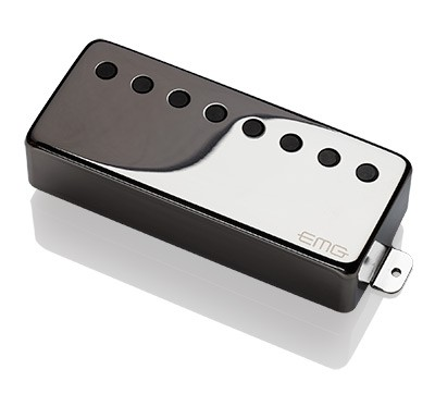 EMG / Electric Guitar Pickup EMG 66-8H Chrome 8弦フロント用【WEBSHOP】 《お取り寄せ商品/納期別途ご案内》
