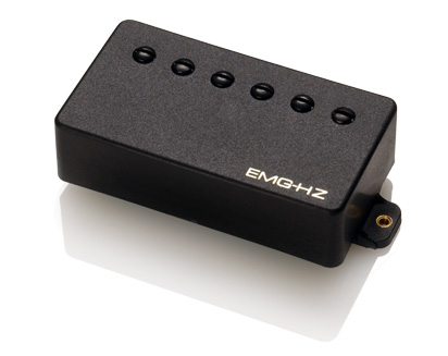 EMG イーエムジー / Electric Guitar Pickup EMG H2 Black フロント用【お取り寄せ商品】