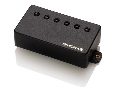 EMG イーエムジー / Electric Guitar Pickup EMG H2A Black フロント用【お取り寄せ商品】