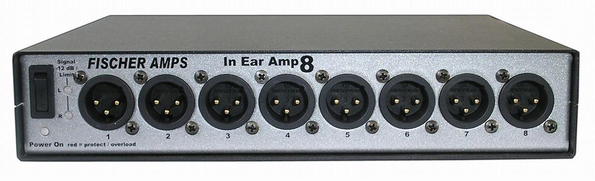 Fischer Amps フィッシャーアンプス / In Ear Amp 8 8xパラレル出力ヘッドホンアンプ 【お取り寄せ商品】