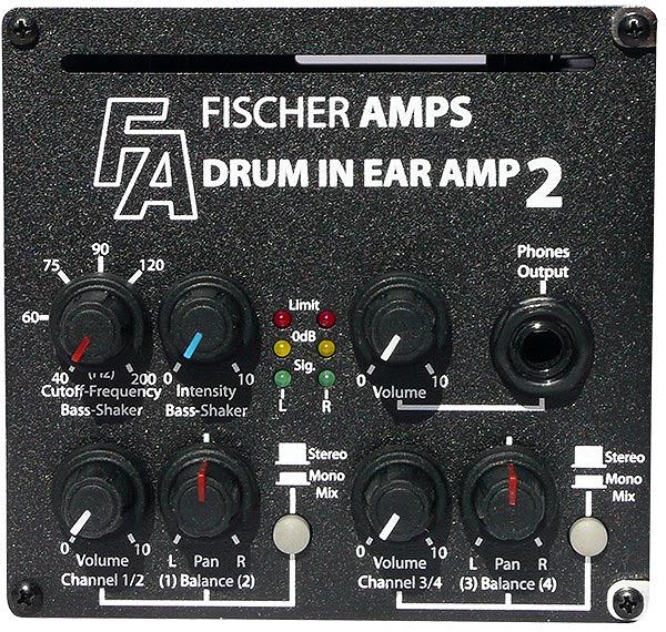 Fischer Amps フィッシャーアンプス / Drum In Ear Amp 2 ドラム用ヘッドホンアンプ【お取り寄せ商品】