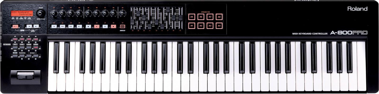 Roland ローランド / A-800PRO-R MIDI Keyboard Controller【YRK】