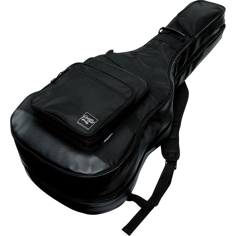 Ibanez / IGAB2540-BK (Black) アイバニーズ 2本収納[*アコギ+エレキ]用ケース【※お取り寄せ商品】【WEBSHOP】