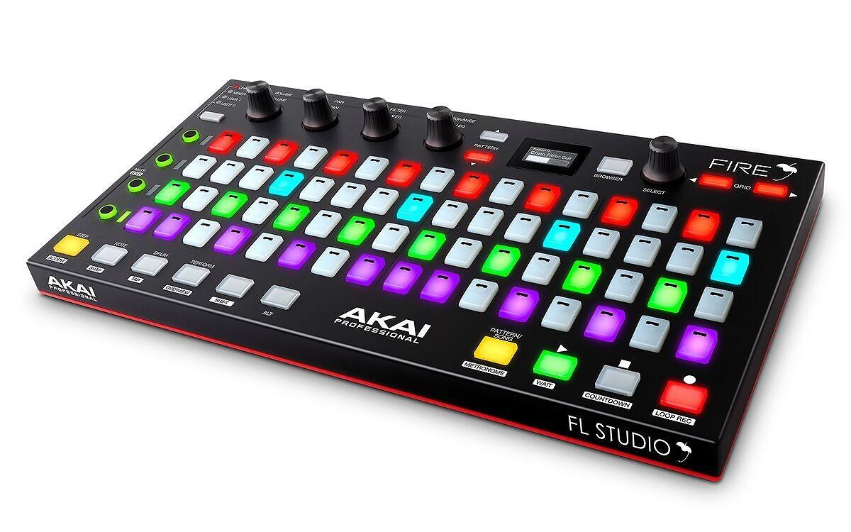 Akai Professional アカイ / Fire FL Studio専用パフォーマンスコントローラー【お取り寄せ商品】