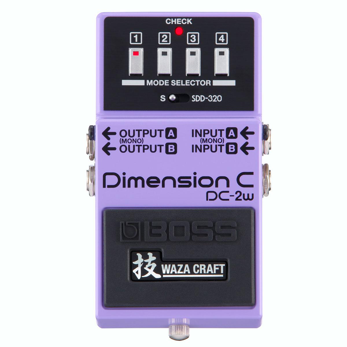 【ご購入特典つき!】BOSS / DC-2W Dimension C MADE IN JAPAN 技 Waza Craft 日本製【YRK】《/80-set12101/+811182200》