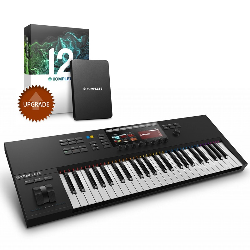 Native Instruments ネイティブインストゥルメンツ / KOMPLETE KONTROL S49 MK2 + KOMPLETE 12 UPG (for SELECT)
