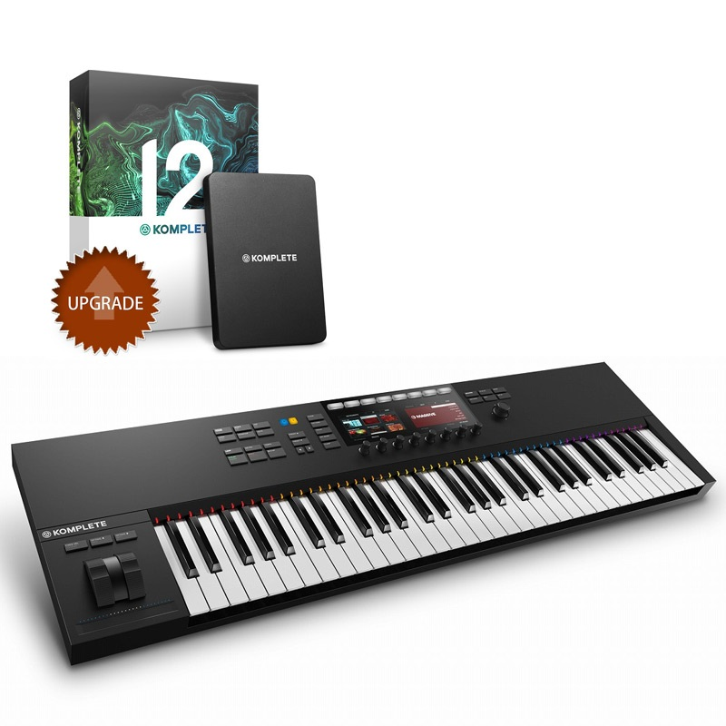 Native Instruments ネイティブインストゥルメンツ / KOMPLETE KONTROL S61 MK2 + KOMPLETE 12 UPG (for SELECT)