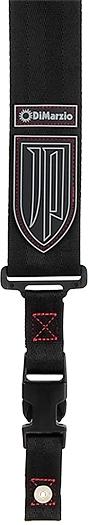 Dimarzio / DD2200JP Black Nylon Red Stitching 【John Petrucci Signature Strap】