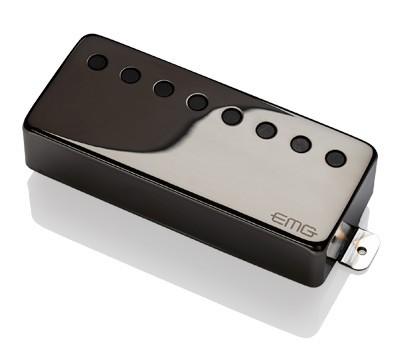 EMG / Electric Guitar Pickup EMG 60-8H Black Chrome 8弦用【WEBSHOP】 《お取り寄せ商品/納期別途ご案内》
