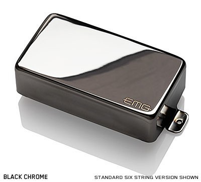 EMG / Electric Guitar Pickup EMG 60X Black Chrome【WEBSHOP】 《お取り寄せ商品/納期別途ご案内》