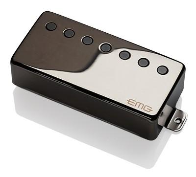 EMG イーエムジー / Electric Guitar Pickup EMG 66-7H Black Chrome 7弦フロント用【お取り寄せ商品】【WEBSHOP】