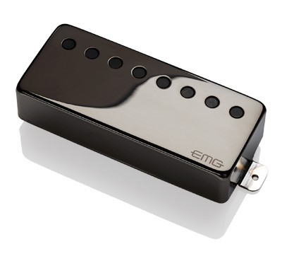 EMG / Electric Guitar Pickup EMG 66-8H Black Chrome 8弦フロント用【WEBSHOP】 《お取り寄せ商品/納期別途ご案内》