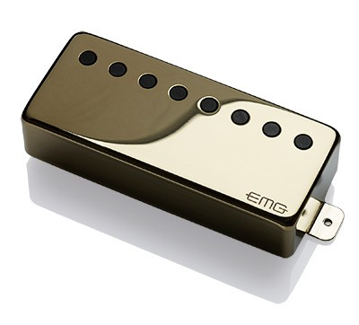 EMG / Electric Guitar Pickup EMG 66-8H Gold 8弦用【WEBSHOP】 《お取り寄せ商品/納期別途ご案内》