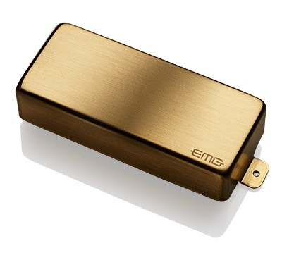 EMG / Electric Guitar Pickup EMG 81-8H Brushed Gold 8弦用【WEBSHOP】 《お取り寄せ商品/納期別途ご案内》