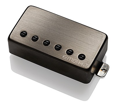 リア用【お取り寄せ商品】【WEBSHOP】 Guitar H2 Pickup Black EMG Brushed Chrome Electric イーエムジー EMG /