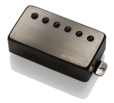EMG イーエムジー / Electric Guitar Pickup EMG H2 Brushed Black Chrome フロント用【お取り寄せ商品】【WEBSHOP】