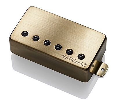 EMG イーエムジー / Electric Guitar Pickup EMG H2 Brushed Gold リア用【お取り寄せ商品】【WEBSHOP】