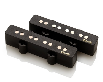 EMG イーエムジー / Electric Bass Pickup EMG LJV Black リア用【お取り寄せ商品】【WEBSHOP】