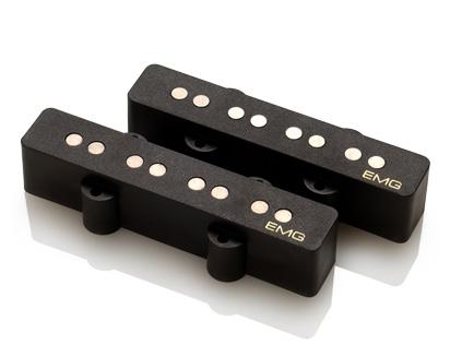 EMG / Electric Bass Pickup EMG SJV Black フロント用【WEBSHOP】 《お取り寄せ商品/納期別途ご案内》