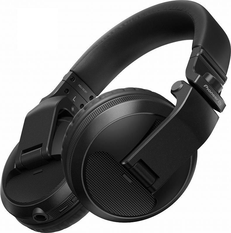 Pioneer DJ パイオニア / HDJ-X5BT-K (メタリックブラック) ワイヤレスDJヘッドホン【お取り寄せ商品】【PNG】