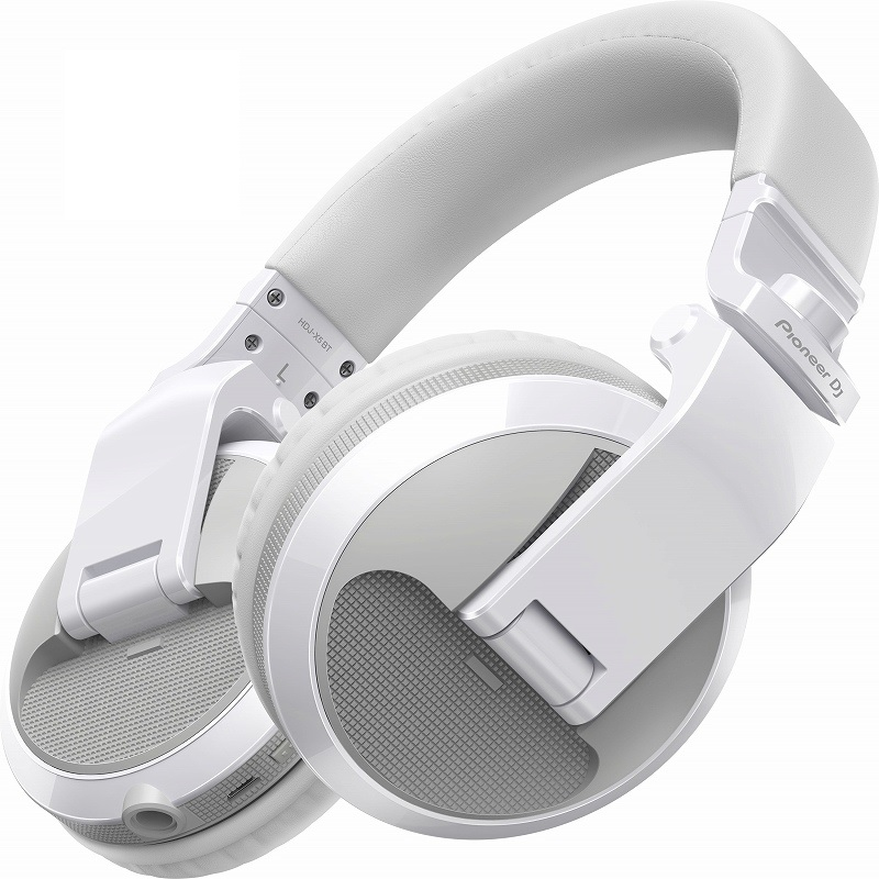 Pioneer DJ パイオニア / HDJ-X5BT-W (グロスホワイト) ワイヤレスDJヘッドホン【お取り寄せ商品】【PNG】