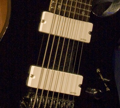 EMG イーエムジー / Electric Guitar Pickup EMG 808 White 8弦用【お取り寄せ商品】【WEBSHOP】