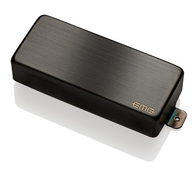 EMG / Electric Guitar Pickup EMG 85-8H Brushed Black Chrome 8弦用【WEBSHOP】 《お取り寄せ商品/納期別途ご案内》