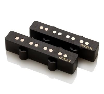 EMG / Electric Bass Pickup EMG JVX SET Black【WEBSHOP】 《お取り寄せ商品/納期別途ご案内》