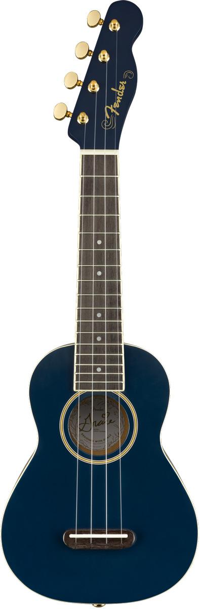 【タイムセール:29日12時まで】Fender / Grace VanderWaal Moonlight Ukulele Soprano フェンダー ソプラノ ウクレレ 入門 初心者 《ウクレレ対応クリップチューナープレゼント!/+621106400》【YRK】