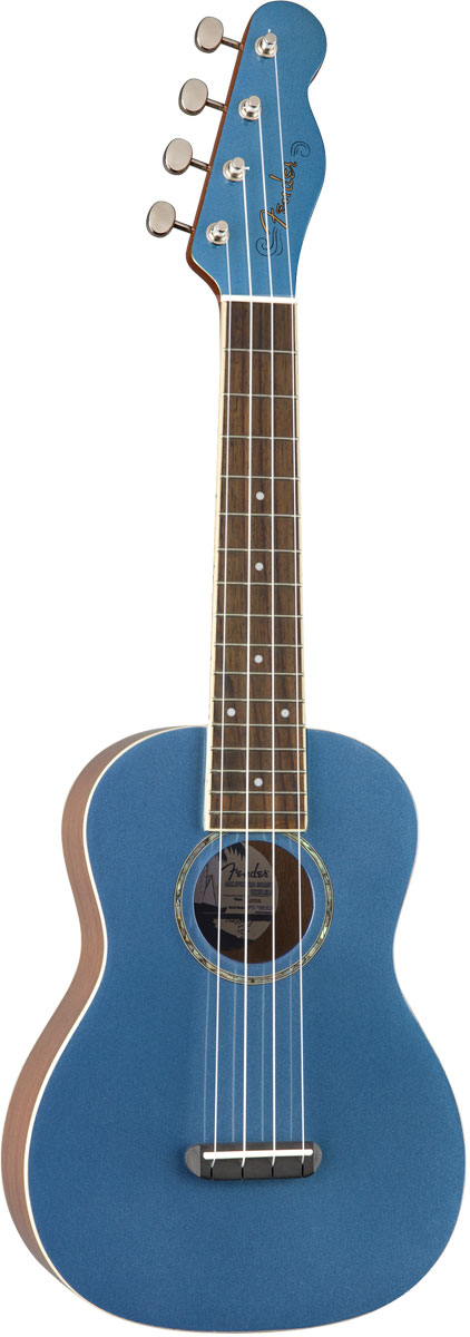 FENDER Acoustic / Zuma Classic Concert Uke Lake Placid Blue フェンダー コンサート ウクレレ 【お取り寄せ商品】【YRK】