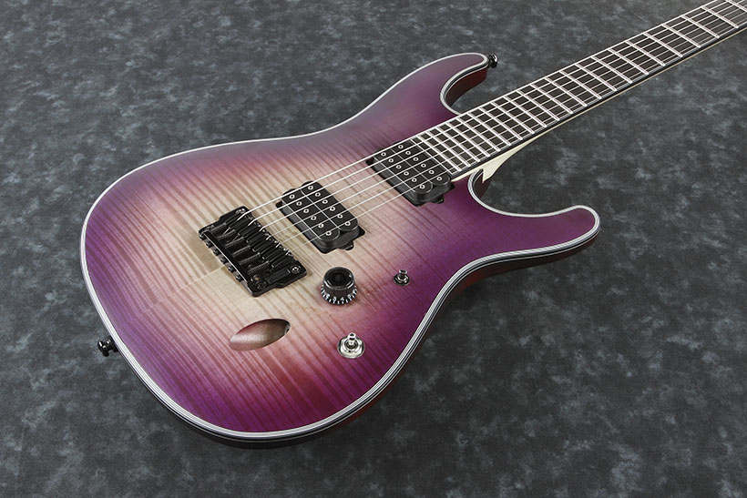 Ibanez / Iron Label SIX6FDFM-PCB Purple Space Burst アイバニーズ【※お取り寄せ商品/納期別途ご案内】《チューナープレゼント!/+811170800》